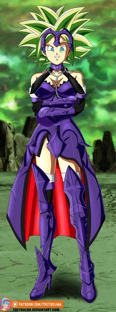 Kefla Super Saiyajin   Jeanne d'Arc (Alter) Outfit