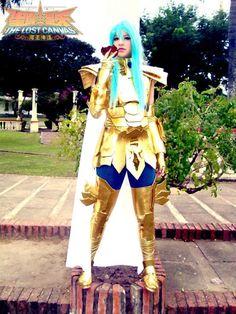 Usagi Yuu: Piscis Albafica from Saint Seiya The Lost Canvas in Otaku House Cosplay Idol 2012