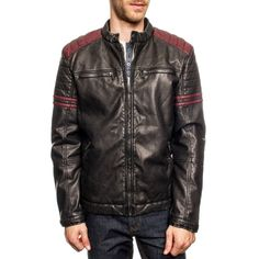 Black/Red Luca Jacket by PX Clothing