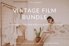 Vintage Film Bundle for bloggers