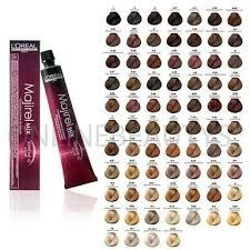 Loreal Majirel Majirouge Majiblonde Professional Hair Colours All