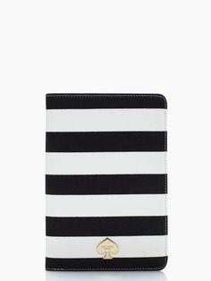 petula stripe mini ipad folio - if i ever have a mini iPad, I'd want this case for it! <3 Kate Spade
