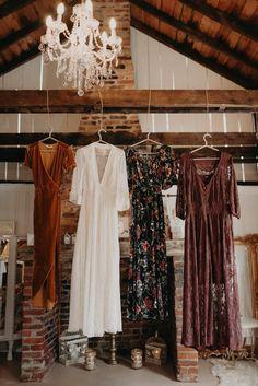 free-spirited gowns