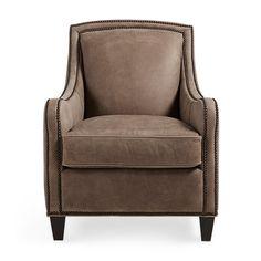 Shop the Dunbar Leather chair at Arhaus.