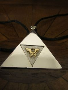 Triforce Dual Sterling Silver Pendant by SilverthinkJewelry, $79.99