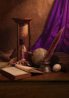 HOURGLASS and PURPLE SILK | Flickr - Photo Sharing!