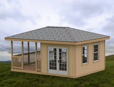 Garden Gazebo/Man Cave/She Shed Building Plans I Hip Roof - 14 x 20 Shed Plans 12x16, Wood Shed Plans, Free Shed Plans, Shed Building Plans, Building Ideas, Building Design, Small Shed Plans, 10x12 Shed Plans, Barn Plans