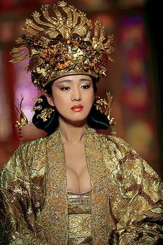 Gong Li in The Curse of the Golden Flower