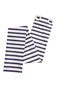 Primark - Navy Stripe Shower Curtain £5.00