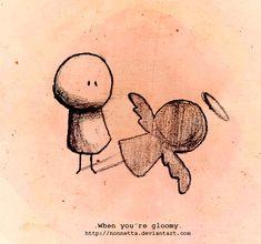 .When youre gloomy. by Nonnetta.deviantart.com on @deviantART