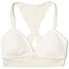 721f52efefafd Hollister Racerback Longline Bralette With Removable Pads ( 17) ❤ liked on Polyvore  featuring intimates