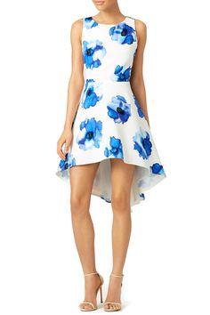 Troubadour   Blue Poppy James Dress - $50 rental via Rent the Runway http://rstyle.me/~7TEEw