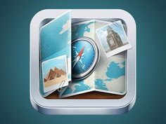 Guide App Icon #appicons #mobileappicons #iosaappicons #iosicons