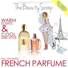 THE FRENCH-GIRL SCENTS YOU'LL LOVE FOR FALL