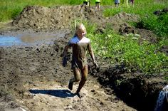 Muddy twists & turns abound (2014 Family Course)