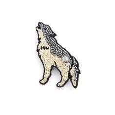 オオカミ/ブローチ - BONDO