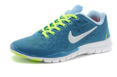 Nike Free TR Fit 3 Breathe Womens Chrome University Blue Volt White 579968 300