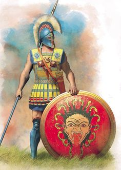 The Linothorax armor worn by the Greek armies of the Classical and Hellenistic p. Greek History, Ancient History, Ancient Sparta, Greco Persian Wars, Corinthian Helmet, Punic Wars, Spartan Warrior, Spartan Sword, Ancient Armor