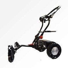 CaddyTrek Remote Controlled Electric Golf Push Cart - Black for sale online Electric Golf Push Cart, Golf Cart Batteries, Golf Gifts, Golf Bags, Robot, Gym Equipment, Vehicles, Sports, Ebay