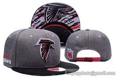 Cheap Wholesale NFL Atlanta Falcons Embroidery Heather Gray Snapback Hats Brim Lava Logo for slae at US$8.90 #snapbackhats #snapbacks #hiphop #popular #hiphocap #sportscaps #fashioncaps #baseballcap