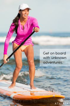 Get on board with unknown adventures. #powertotheshe - Sooo want to try Stand up paddle boarding