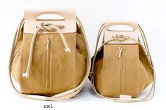canvas pop-up bags:  XXL