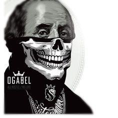 Benjamin Franklin sporting our bandit bandana. #ogabel Skull Tattoo Design, Tattoo Designs, Chicanas Tattoo, 13 Tattoos, Tatoos, Og Abel Art, Chicano Tattoos Sleeve, Quote Coloring Pages, Vintage Cartoon