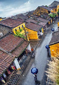vietnam , hoian city , trungviet kingdom