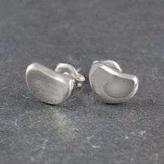 9f51531bb These polished silver stud earrings are a simple, sophisticated and classic  addition to any collection