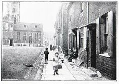 News Shopper: Children play on Deptford Green in 1897