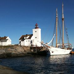 Homborsund Lighthouse, southern Norway