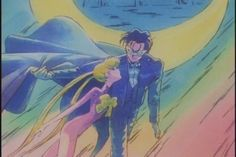 "Painting from ""Sailor Moon"" series by manga artist Naoko Takeuchi."