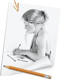 Portré rajzolás - a tökéletes portré 9 titkos trükkje - Művészház Zentangle, Folk Art, 1, Drawings, Techno, Creative, Painting, Vintage, Zentangle Patterns