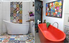 10 удивительных сочетаний цветов, которые освежат любую ванную комнату