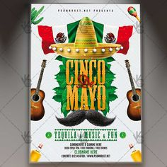 5 De Mayo Party - Premium Flyer PSD Template.  #5demayo #Cancun #celebration #cinco #CincodeMayo #fiesta #mexican #mexico #mexicoindependenceday #sombrero #tequila #tropical  DOWNLOAD PSD TEMPLATE HERE: https://www.psdmarket.net/shop/5-de-mayo-party-premium-flyer-psd-template/  MORE FREE AND PREMIUM PSD TEMPLATES: https://www.psdmarket.net/shop/