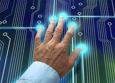 Japan's Ogaki Kyoritsu bank is preparing to roll out biometric ATMs that will allow users to access their accounts by scanning their hand, and entering their birthdate and PIN number Digital Technology, Science And Technology, Futuristic Technology, Biometric Devices, Money Penny, Future Predictions, Cool Inventions, Digital Trends, Future Tech