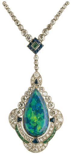 My favorite opal pendant, part of the Altmann & Cherny - Opal Collection