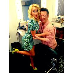 Our very own fashionistas, Emily Osment & Rex Lee, looking fab! | Young & Hungry