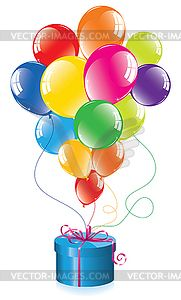 Pack of 10 Happy 8th Birthday Party Balloons Mixed Colours Air Fill Only