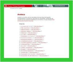 AVETECA es un banco de actividades interactivas en línea del Instituto Cervantes. En http://cvc.cervantes.es/ensenanza/actividades_ave/aveteca.htm