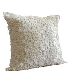 Love this Ivory Nicola Euro Sham by Nostalgia Home on #zulily! #zulilyfinds