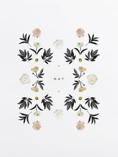 Another lovely design by Cocorrina. BOTANICAL PATTERNS: MAY: