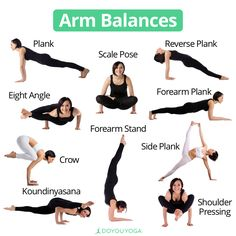 So many ways to balance on your arms! What's your favorite arm balance?