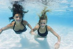 Swimming Pool Games for Two People |