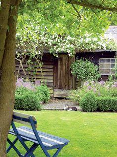 Home of Eva Johnson in Suffolk, England