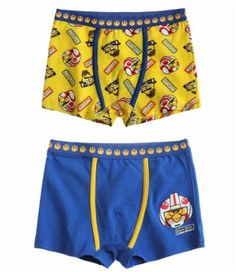 Angry Birds Star Wars 2 pieces boxers yellow