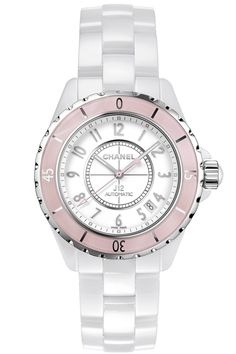 Buy Chanel White Ceramic Automatic Watches, authentic at discount prices. All current Chanel styles available. Chanel J12, Chanel Watch, Coco Chanel, Cheap Jewelry, Jewelry Accessories, Fashion Accessories, Fashion Jewelry, Cool Watches, Watches For Men