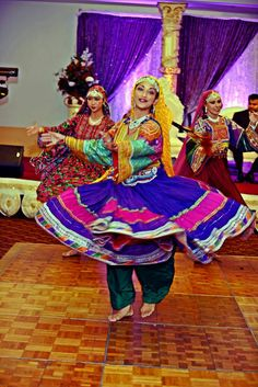 Afghanistan Attan Dance