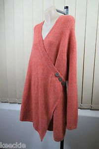 Plus Size L 14 Ladies Wool Wrap Cardigan Business Office Casual Boho Design | eBay