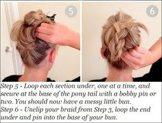 Braided Bun Hairstyles For Long Hair